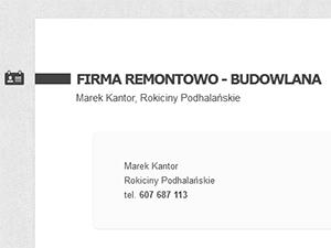 Strona wizytówka firmy