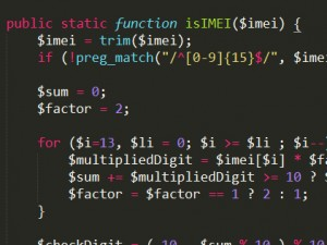Skrypt PHP do wczytywania numerów IMEI z plików